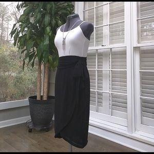 Wrap skirt, new, light and classy